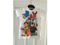 Boy's next Lego t-shirt