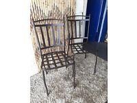 New Metal Garden Chairs