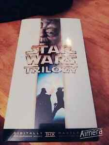 COFFRET STARWARS TRILOGY VHS