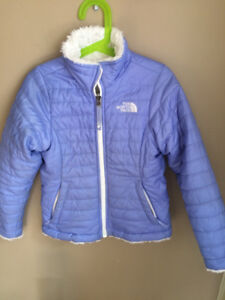 Girl's North Face Reversible Jacket