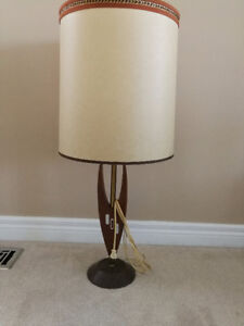 MINT WORKING VINTAGE CLASSIC 1950s Desk Table Lamp Light