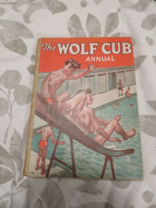 """VINTAGE COLLECTIBLE BOOK """"The Wolf Cub Annual"""""""