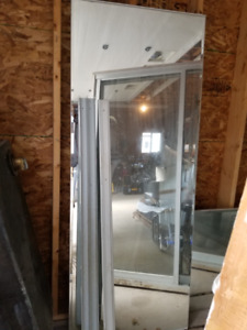 GLASS MIRROR CLOSET DOOR