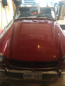 1971 MG MIDGET FOR SALE FOR $6000 or BEST OFFER