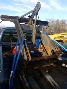 Tandem or S/A plow truck snow plow hitch harness for 10' 11' 12