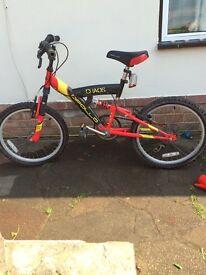 "Boys 14"" frame bike"