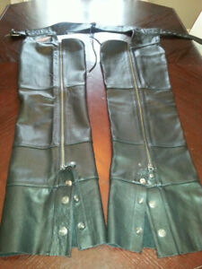Harley Davidson Leather riding chaps
