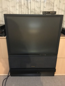 Free 46 inch Hitachi CRT Television, Pick Up Required