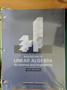 UNTOUCHED Intro to Linear Algebra w/ Solutions Manual