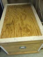 Wooden Tack Trunk