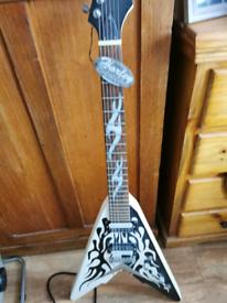 Flying v guitar brand new