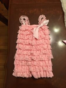 Girls romper and dress