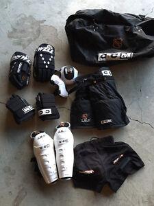CCM ringette/ hockey gear size large