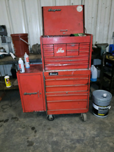 Old snap-on box