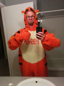 Awesome adult Tigger costume!!