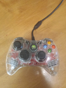 Xbox 360 Red Glowing controler