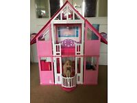 LARGE BARBIE HOUSE (BOXED) £20
