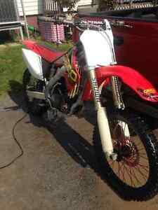 08 crf250r race built for trade