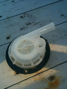 MAYTAG WASHER DRAIN PUMP (used) pt # 21001960