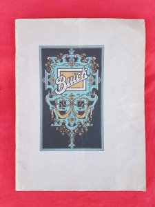 1926 BUICK SIX Dealer Prestige Sales Brochure Catalogue