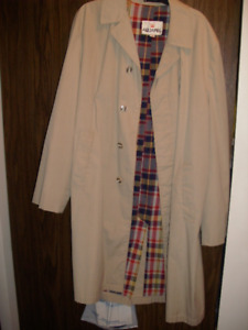 Men's vintage Aquapel raincoat -L