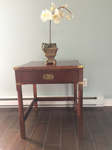 Bombay coffee table/chest and side table