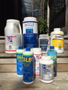 Pool Chemicals & Accessories.