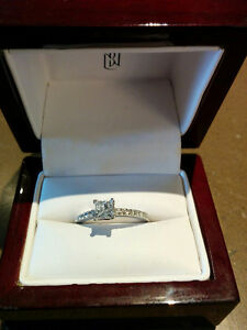 Diamond engagement ring Kitchener / Waterloo Kitchener Area image 1