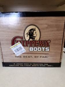 Real Cordovan Leather Chippewa Boots