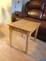 end tables , solid and sturdy