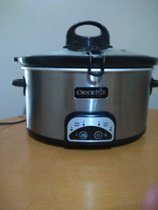 Crock pot 6.5 quarts