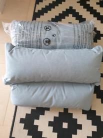 Cushion set outdoors