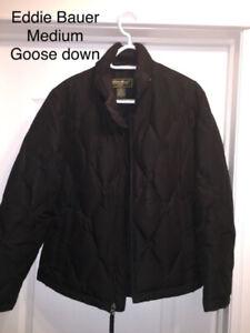 GREAT COAT Eddie Bauer - medium goose down jacket