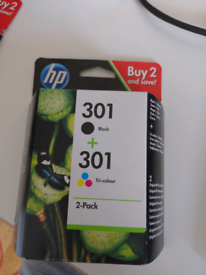 HP 301 tri-colour 2-pack free shipping