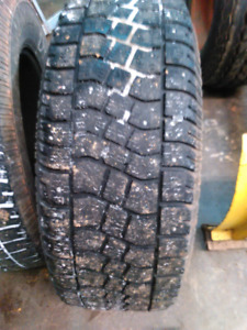 265-70-17 Winter Tires on GM Rims