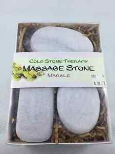 Cold Stone Therapy Massage Stone Marble (3 pcs) - New