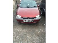 Vauxhall corsa 2000 w reg spare and repair.
