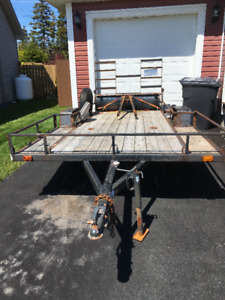 LIGHTLY USED TRAILER