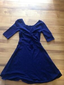 Garage Fit and Flare Cut-Out Dress in Navy Stratford Kitchener Area image 2