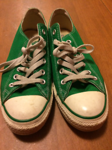 Converse All-Star low top green men's size 7