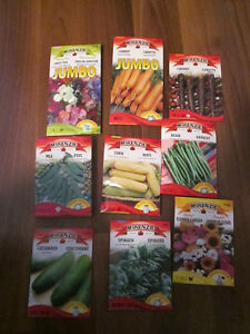 Gardening items and seeds