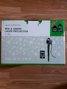 Red & Green Laser Projector