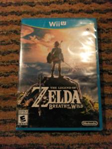 Legend of Zelda: botw Wii u sealed!