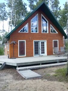 Cabin at Meadow Lake Provincial Park