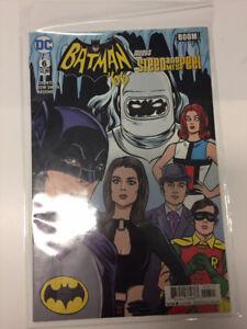 BD Batman 66 meets Steed and Mrs Peel Comic Book