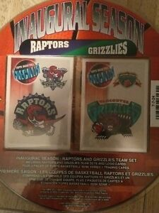 1996 TOPPS Inaugural Season basketball cards  Raptors/Grizzlies