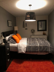 Furnished Apartment in Ingersoll.  I bedroom.  $875.00 plus