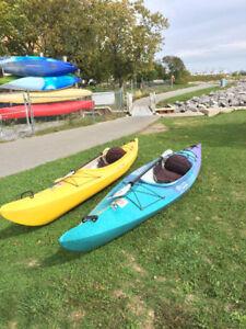 13' Inuvik Recreational Kayaks with Paddle