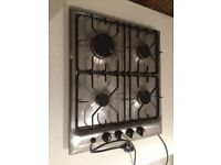 Electrolux Gas Hob Four Ring Stainless Steel £10
