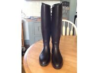 Black Dublin riding boots